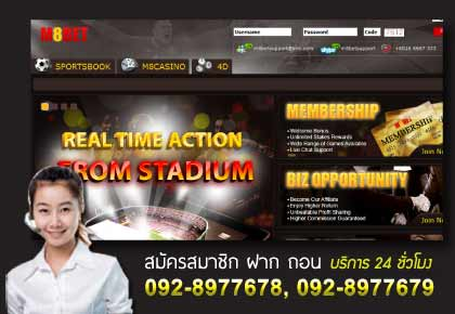M8BET Website