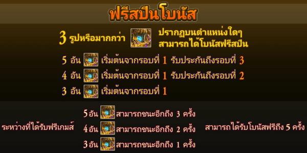 Free spins bonus Goblin miner slot