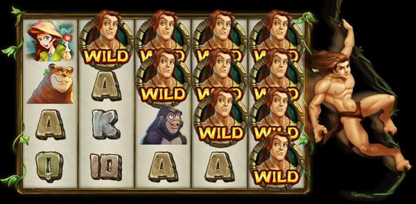 Free spins bonus Tarzan slot