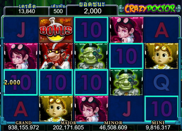 How to play to win crazy doctor slot