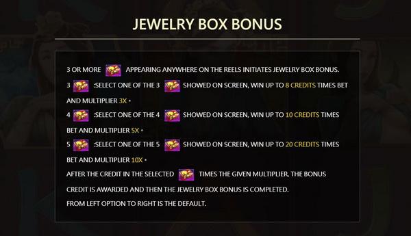 Jewelry Box Bonus