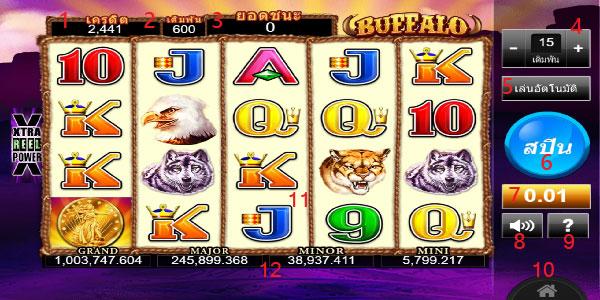 Play guide Buffalo Slot