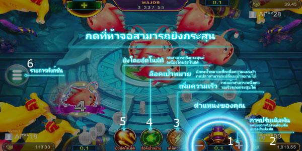 Play guide Fuwa Fishing Slot
