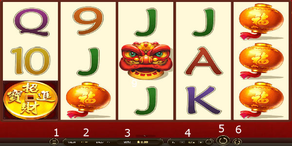 Play guide Lucky Lion Slot