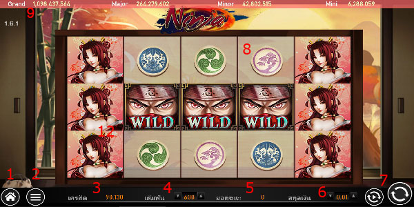 Play guide Ninja slot