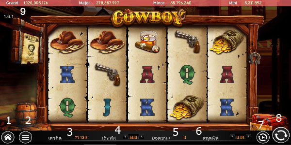 Play guide cowboy slot