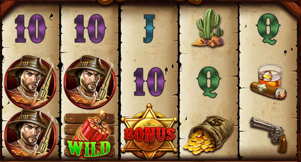 Symbols and payout rates cowboy slot