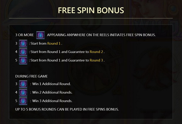 Free spins bonus CrystalRealm Slot