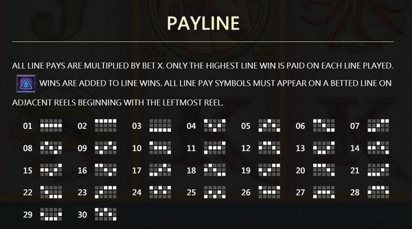 Payline CrystalRealm Slot