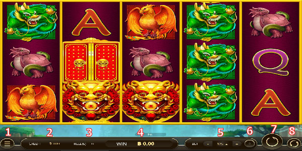 Play guide Legendary5 Slot