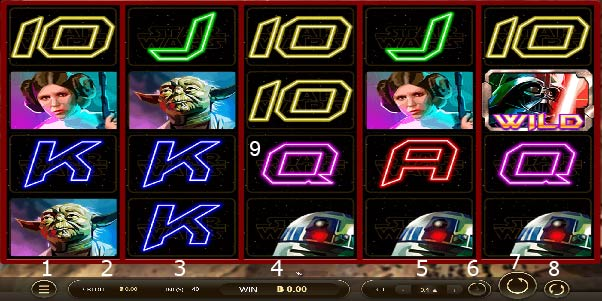 Play guide Star Wars slot