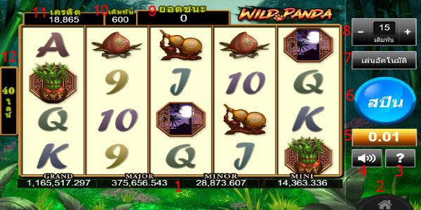 Play guide Wild Panda Slot