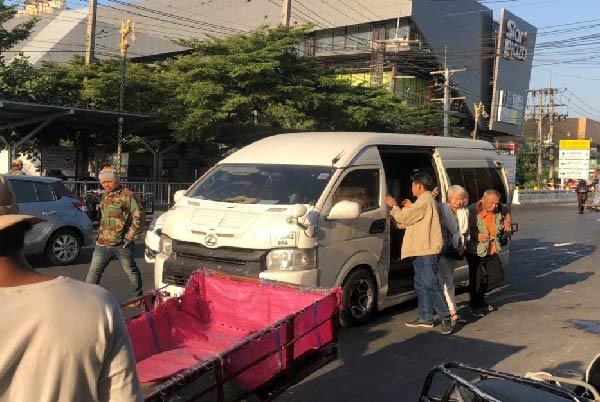 รถตู้รับ-ส่ง ลูกค้า วีไอพี คาสิโน