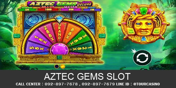 เกมส์สล็อต Aztec Gems